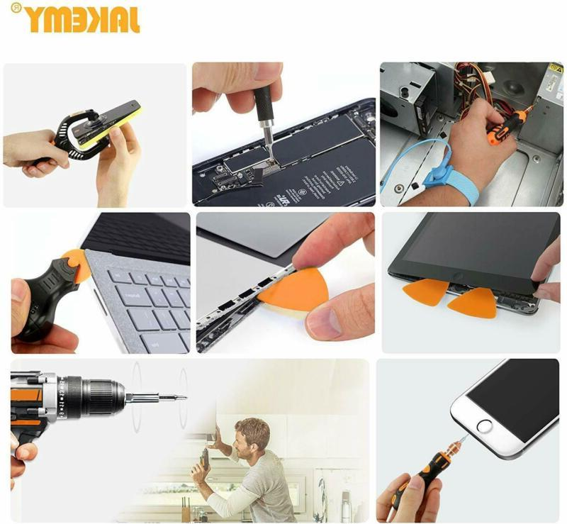 Screwdriver 99in1 w/ 50 Magnetic Driver Bits Bag