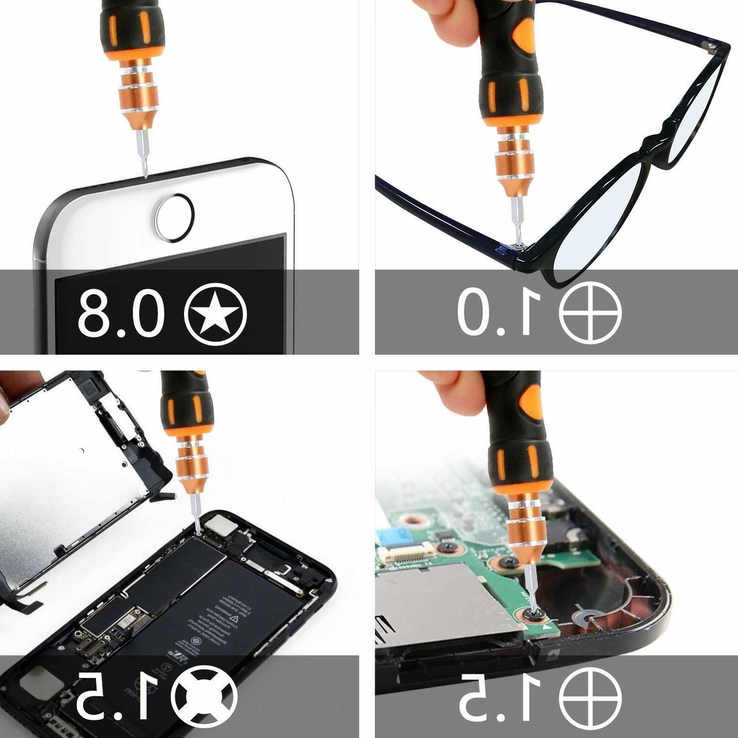 Screwdriver 1 Kit JAKEMY Replaceable