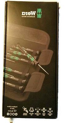 Wera Tool Screwdriver Repair Precision Set 12