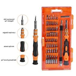 Magnetic Driver Kit, Newcomdigi Screwdriver Set 58 in 1 with
