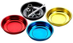Magnetic Mini Tray Holders - 4 Pack Multi Color - Use In Gar
