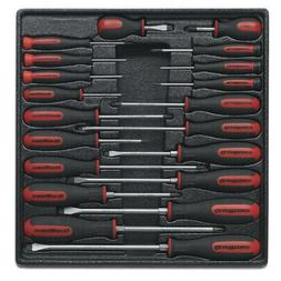 GearWrench 20-Piece Master Dual Material Screwdriver Set 800
