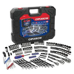 "WORKPRO 164-piece Mechanics Tool Kit 1/4"", 3/8"" & 1/2''"