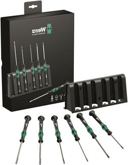 Wera 2035/6 B Micro Precision Screwdriver Set With Rack 0511