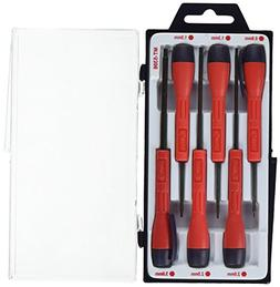 Genius Tools 6 Piece Micro-Tech Metric Hex Screwdriver Set M