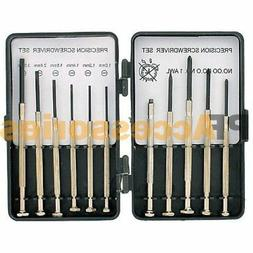 11 Pcs Mini Screwdriver Set Hand Tool Repair Kit for Eyeglas