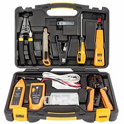 InstallerParts 15 Piece Network Installation Tool Kit – In