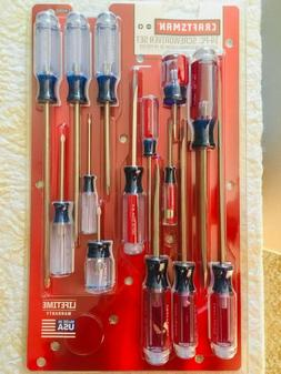 new 14 pc screwdriver set phillips