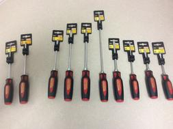 NEW Craftsman Professional 10 pc LOT Slotted, Phillips, Torx