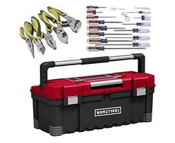 Craftsman Power Latch Tool Box With Slotted Phillips Screwdr
