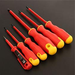 Practical 6PCS VDE Electricians Screwdriver Set Tool Electri