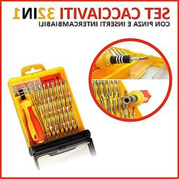Precision 32 in 1 Hand Power <font><b>Screwdriver</b></font>