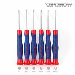 WORKPRO Precision Screwdrivers Repair Tool Set for Cell Phon