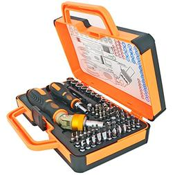 Ratchet Screwdriver Set Socket Set 64 Bits Magnetic