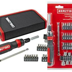 Ratcheting Multi-Bit Magnetic Screwdriver Set CRAFTSMAN Opti