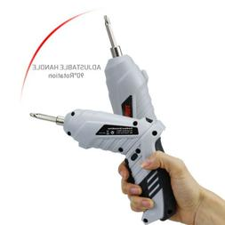 Rechargeable Lithium-Ion Electric Screwdriver Cordless Drill