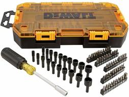 DEWALT Screwdriver Bit Set with Nut Drivers, 71-Piece/ Screw