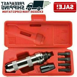 Screwdriver Set 3/8 Inch Manual Hand Drive Impact Hammer Dri