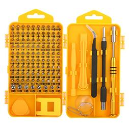 Screwdriver Tool Set, M.Way 108 in 1 Precision Screwdriver S