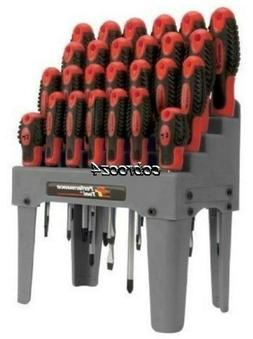 Performance Tool  26-Piece Screwdriver Set with Rack