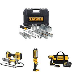 DEWALT Tool Set with Compact Drill Driver Kit, LED Area Ligh