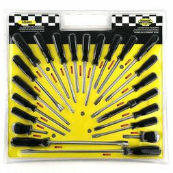 Set Screwdrivers A Slotted, Phillips and Torx + nail puller