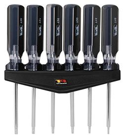 Performance Tool W80006 6-Piece Professional Star Driver Set