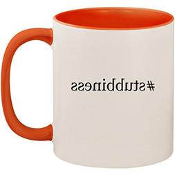 #stubbiness - 11oz Ceramic Colored Inside and Handle Coffee