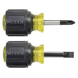 2-Piece Stubby Screwdriver Set