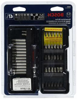 Bosch T4047 Screwdriver Bit Set, 47 Piece