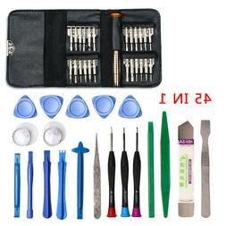US STOCK 45Pcs Computer Camera Screwdriver Repair Tool Set H