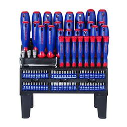 WORKPRO 100-Piece Screwdriver Set with Magnetic Tips and Bit