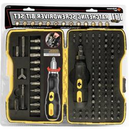 Performance Tool W1719 Ratcheting Bit Driver Set,101-Piece