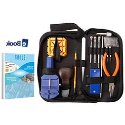 WONBEE Watch Repair Kit 164 PCS Professional Watchband Adjus