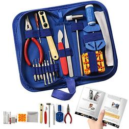 Watch Repair Kit Professional - Complete Tool Set with Watch