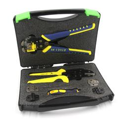 Wire Crimper Crimping Plier Wires Stripper Screwdriver Ratch